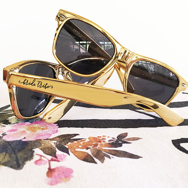 Gold Bachelorette Sunglasses