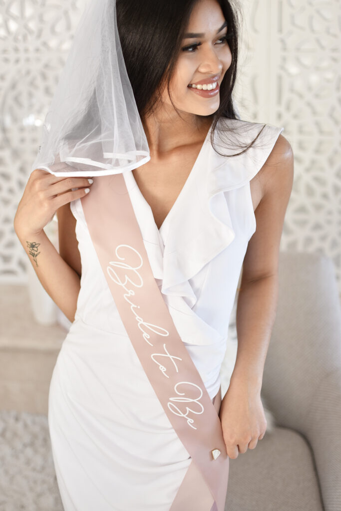 Bridal Shower Sash