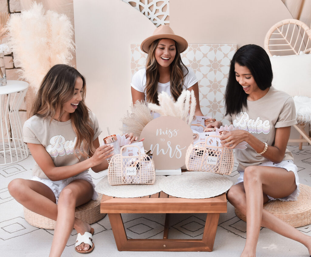boho picnic for your bridal party