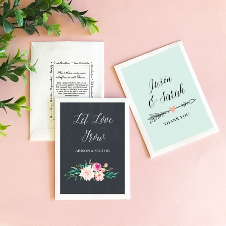 Seed Packet Wedding Favors Floral