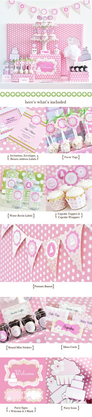Pink Cake ModParty Kit