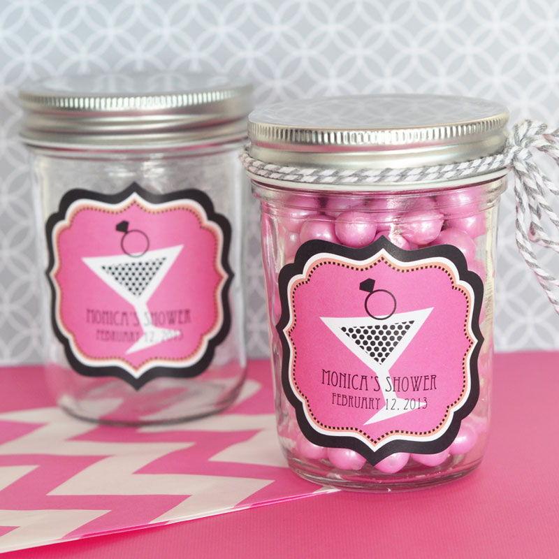 Bachelorette Party Personalized Mini Mason Jars