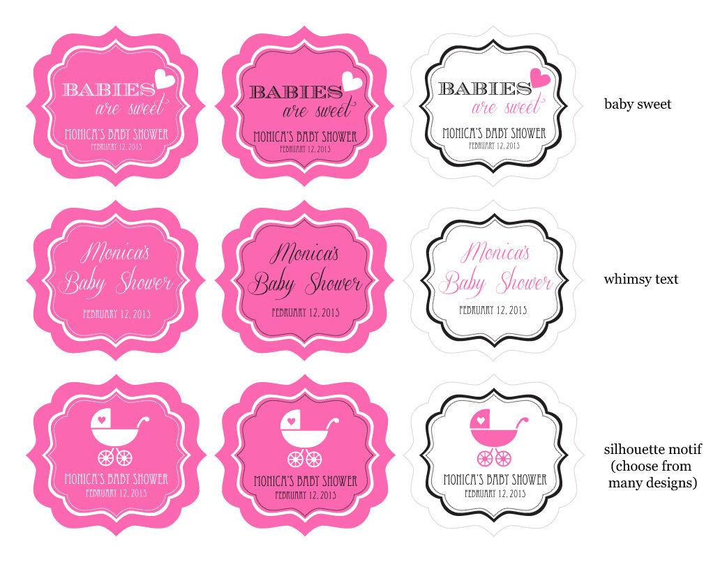 label design options