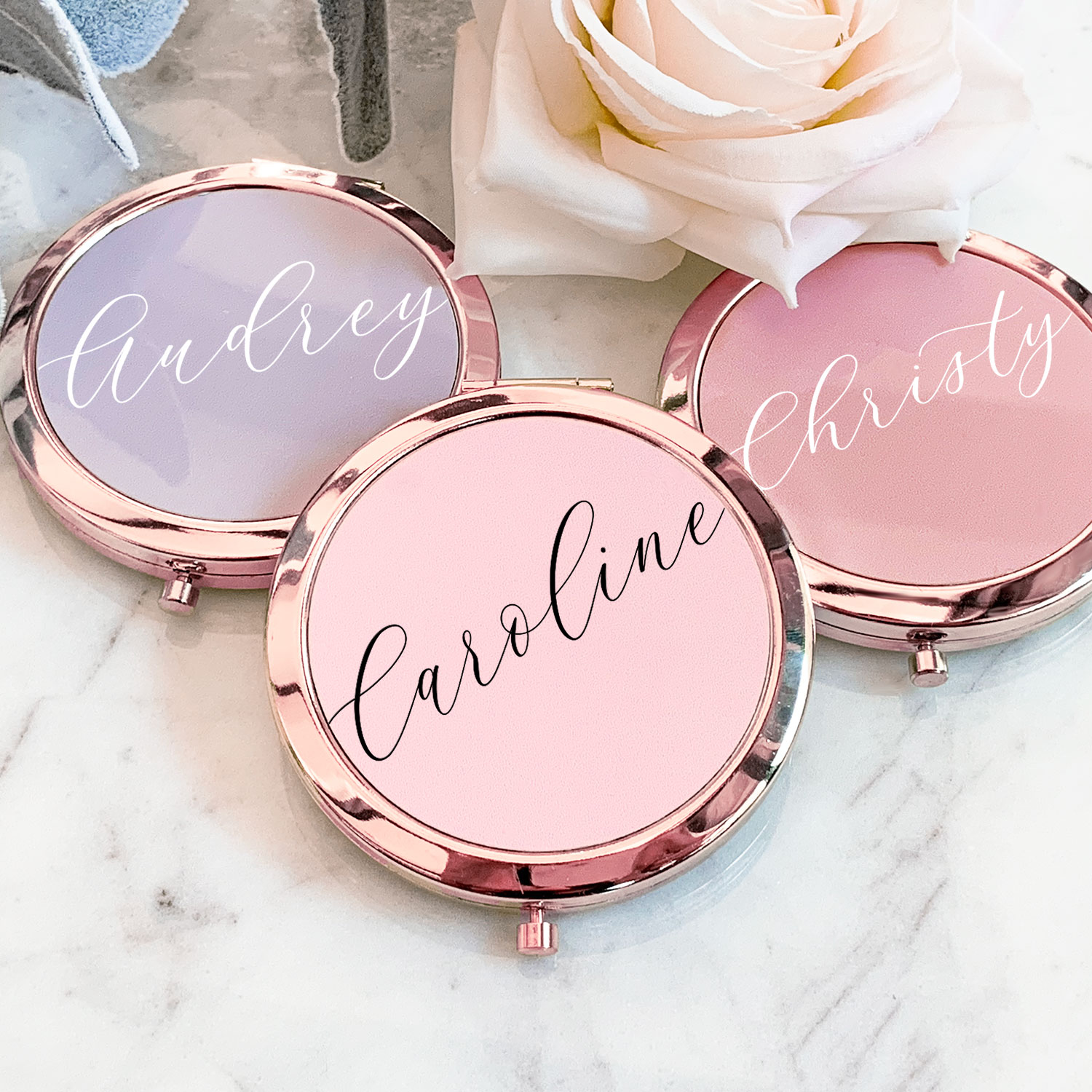 Mum Of Bride Personalised Mirror Personalised Mirror Bridal Party Gift Personalised Pocket Mirror Mother Of The Bride Gift