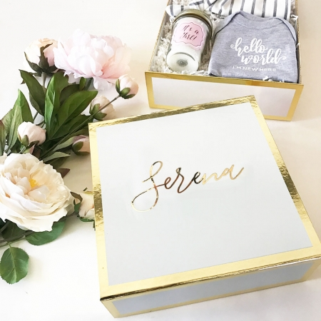 Personalized Gift Box Mom Baby