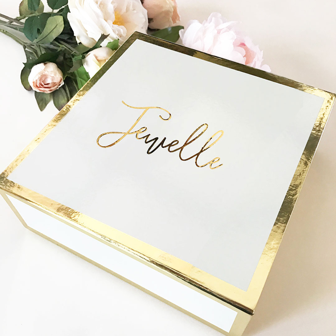 boxes box gift bridesmaid personalized bridal shower gifts gold favor mom bridesmaids maid proposal build put empty inside weddingfavorites package