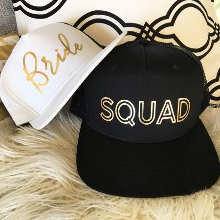 359c95603 Bride Squad Hats