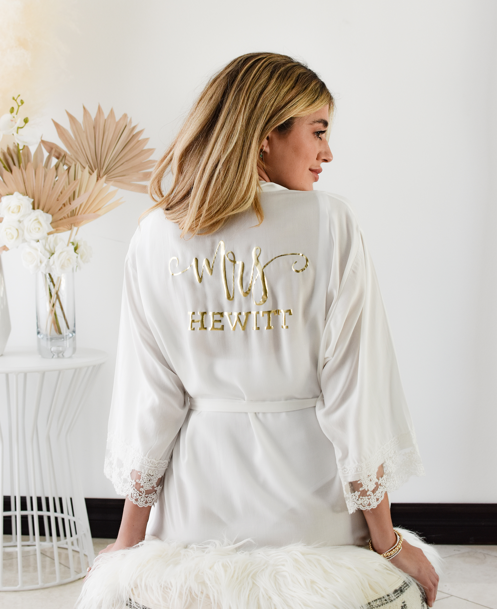 Mrs Robe Personalized Bride Robe