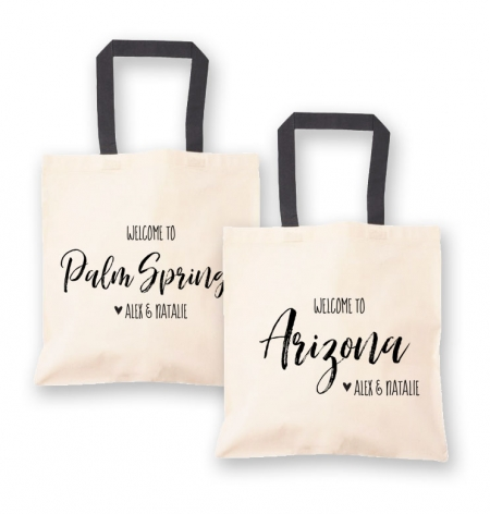 Wedding Welcome Bags States
