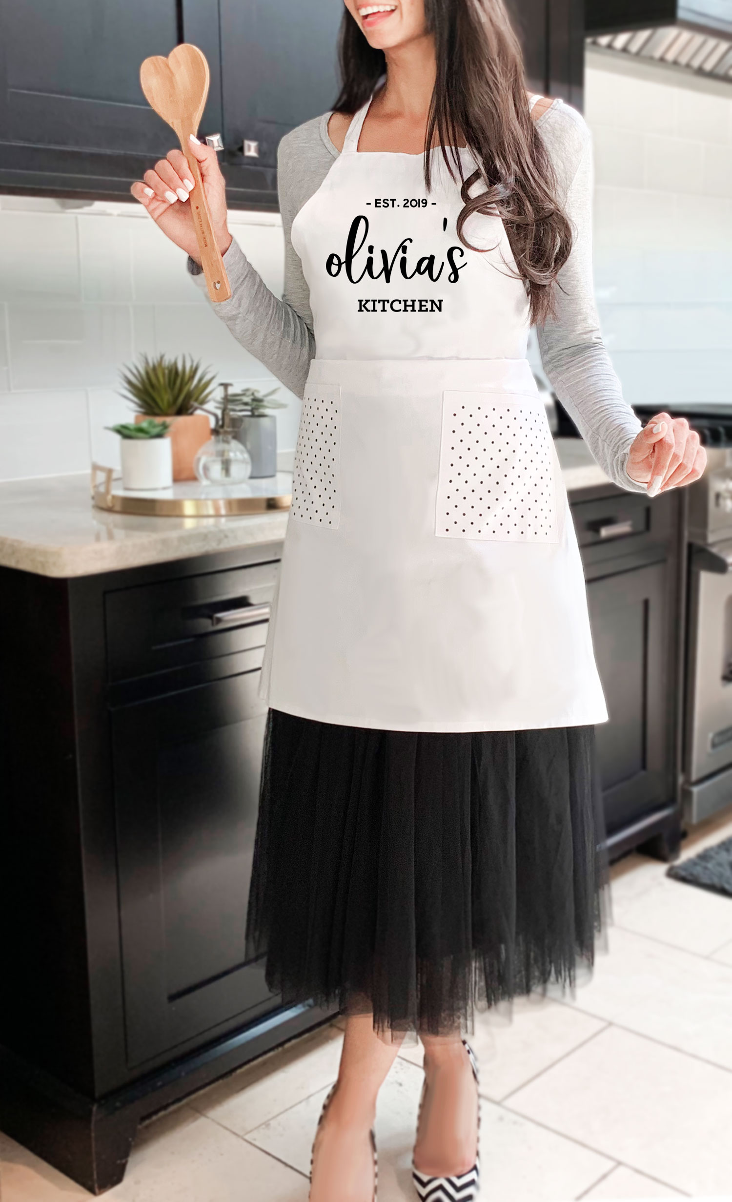 Personalized Aprons Women