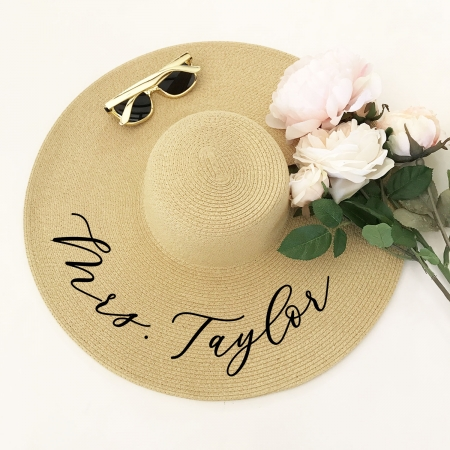 Floppy Beach Hat - Personalized 919393ccf34d