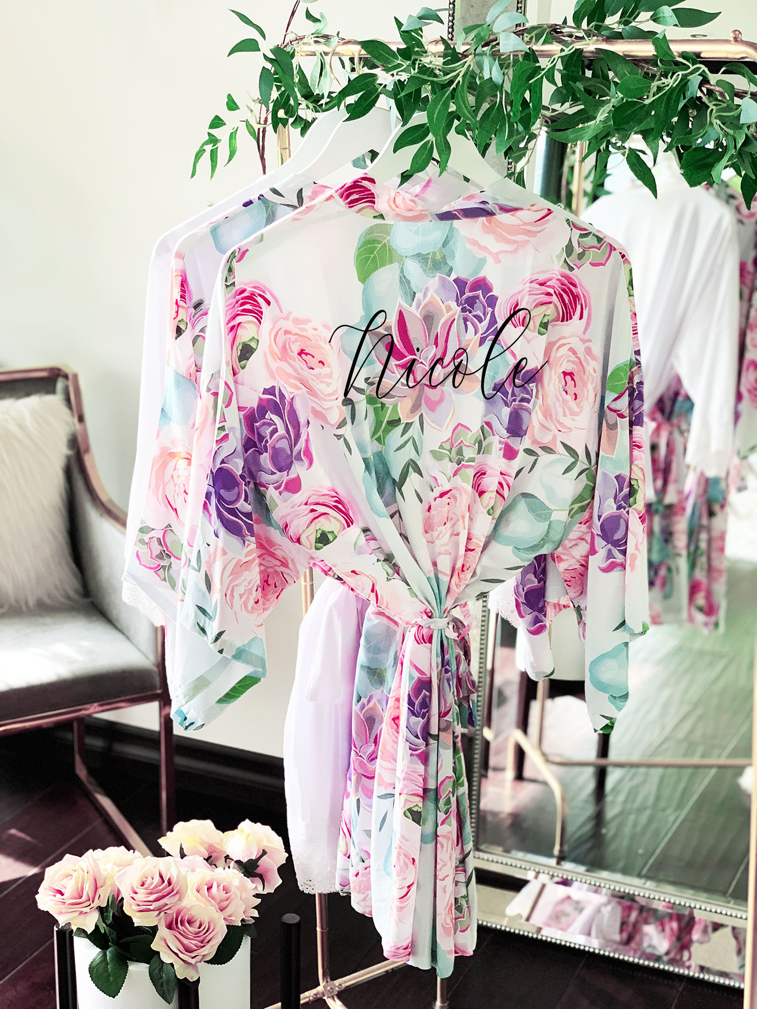 Succulent Robes Personalized
