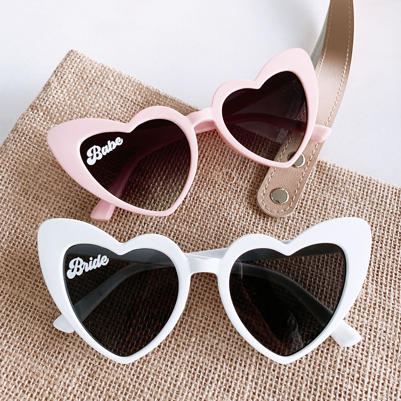 Bachelorette Party Sunglasses Wedding Party Sunglasses Bridesmaid Sunglasses