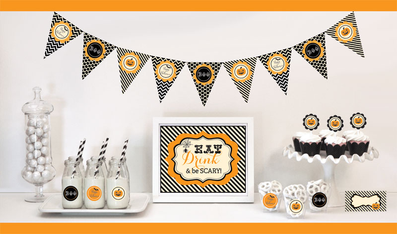 classic halloween decorations starter kit