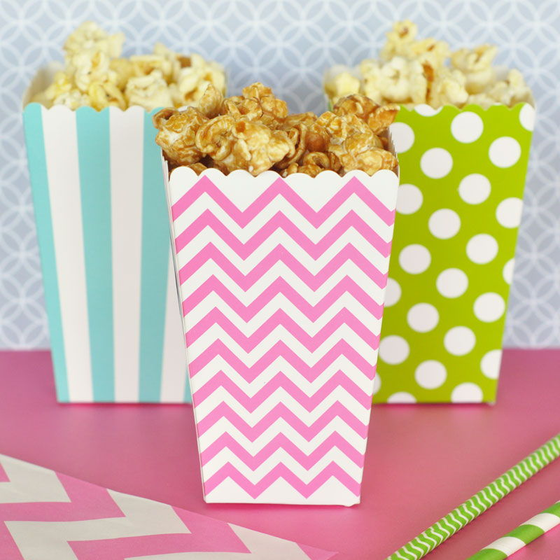 Diy popcorn n treats boxes set of 12 filmwisefo
