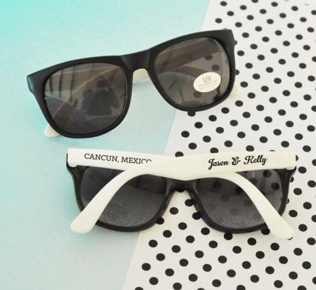 fb7cf15181 Personalized Wedding Sunglasses